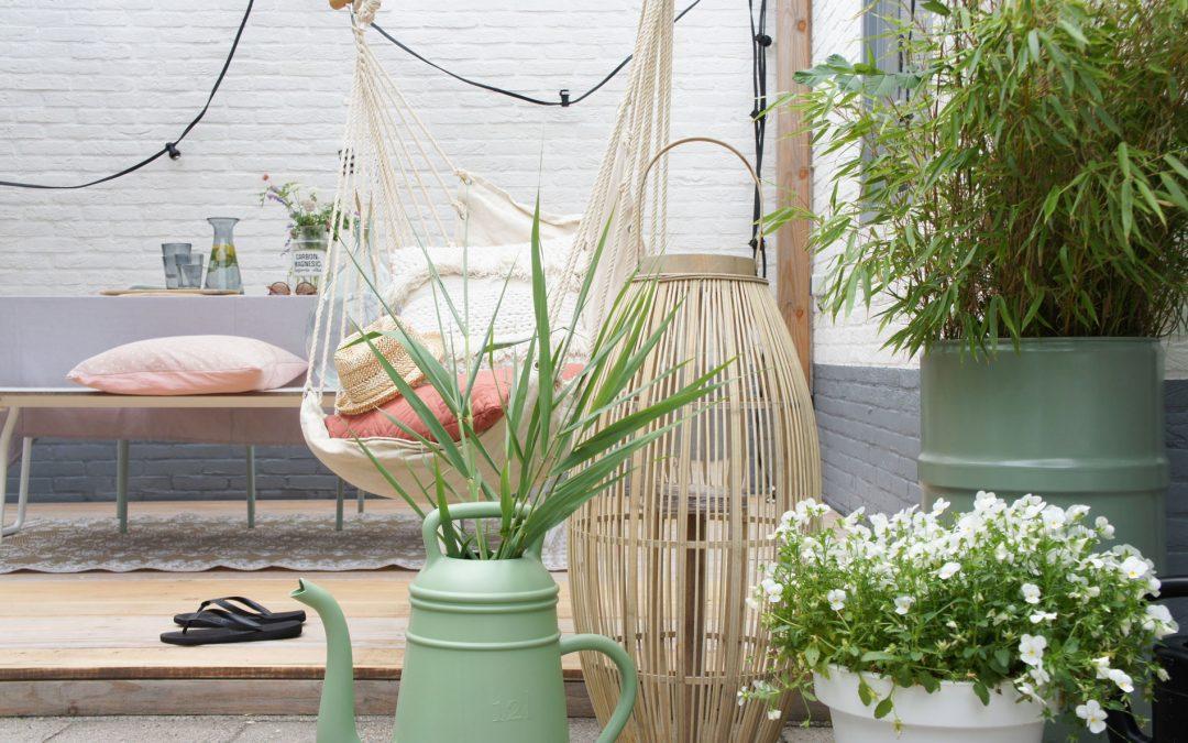 Mini makeover van de tuin