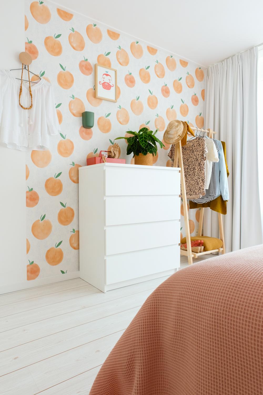 Witte gordijnen in de slaapkamer - Huisgeluk
