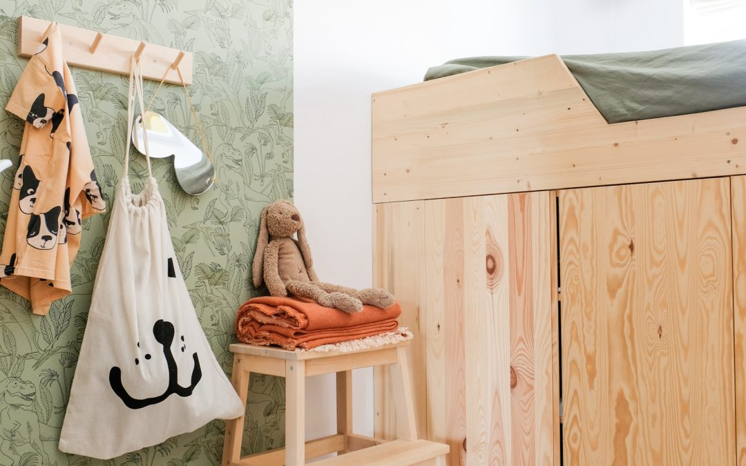 Ikea hack | hoogslaper van Ivar kastjes